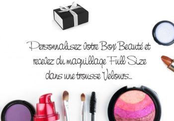 Box Beauté Personnalisée Box beauté & Maquillage pas cher