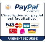 Paiement sécurisé sur macosmébox.com avec Paypal